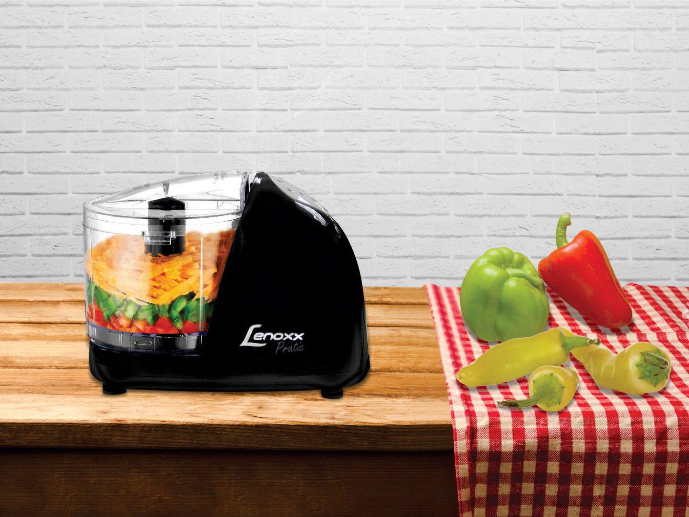 Mini Processador de Alimentos Lenoxx Pratic - 1 Velocidade 100W - 110 V - 4