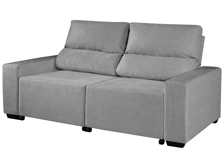 Foto 6 - Sofá Retrátil Reclinável 3 Lugares Suede Elegance - American Comfort