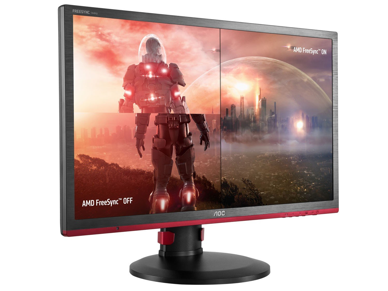 Foto 5 - Monitor Gamer Full HD AOC LED Widescreen 24 - Hero G2460PF