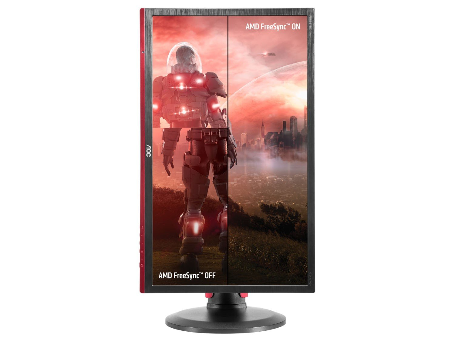 Foto 7 - Monitor Gamer Full HD AOC LED Widescreen 24 - Hero G2460PF