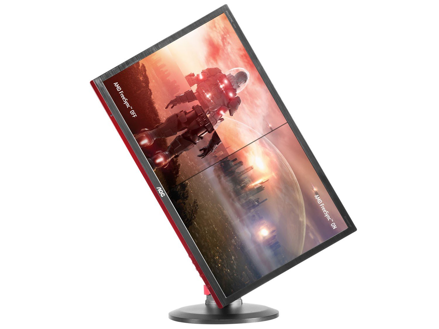 Foto 8 - Monitor Gamer Full HD AOC LED Widescreen 24 - Hero G2460PF