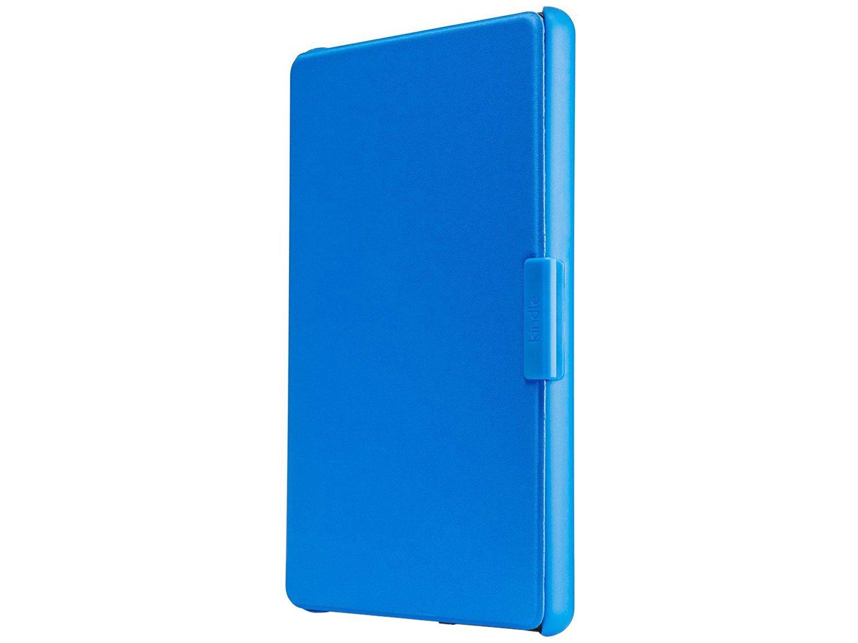 Foto 1 - Capa para Kindle 8ª Geração Couro Azul - AO0517 Amazon