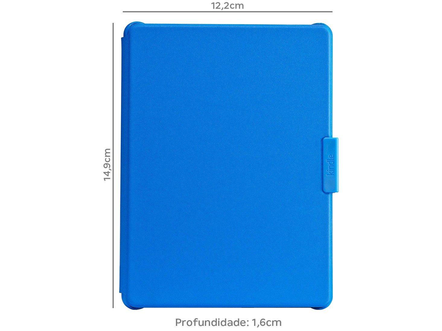 Foto 3 - Capa para Kindle 8ª Geração Azul AO0517 - Amazon