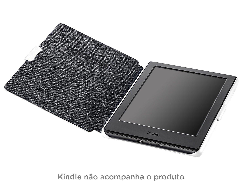 Foto 5 - Capa Kindle 8° Geração 6 Branca - B01CUKZNP4 Amazon