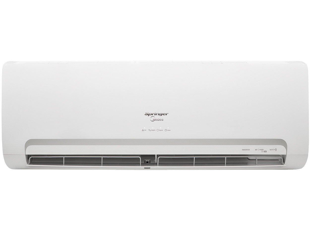 b0f386e13 Foto 3 - Ar-Condicionado Split Springer Midea Inverter - 12.000 BTUs Quente  Frio