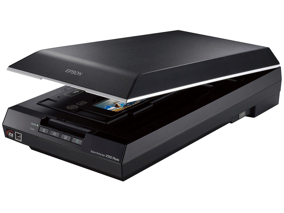 Foto 1 - Scanner de Mesa Epson Perfection V550 Colorido - 6400dpi