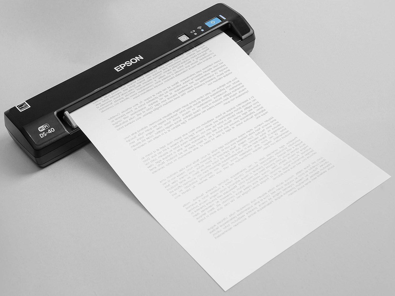Foto 2 - Scanner Portátil Epson DS-40 Colorido - 600dpi com Conexão Wi-Fi USB