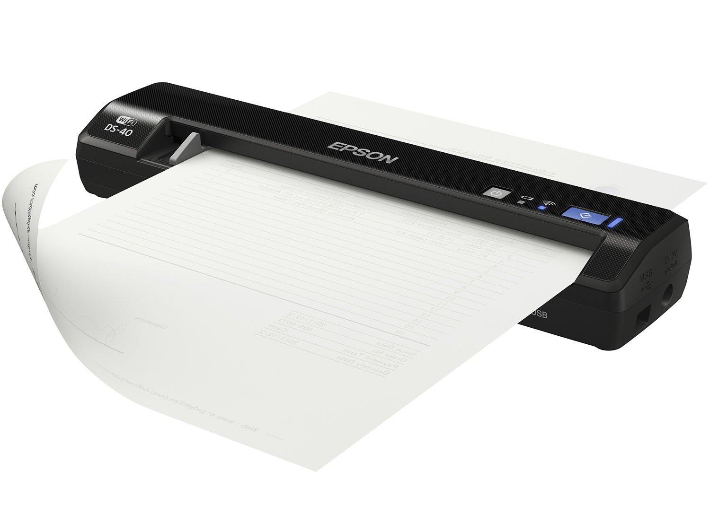 Foto 3 - Scanner Portátil Epson DS-40 Colorido - 600dpi com Conexão Wi-Fi USB