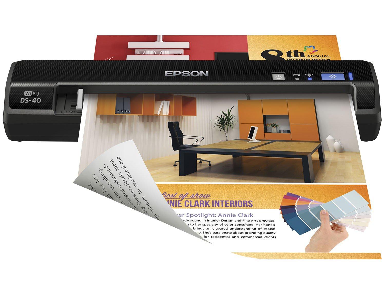 Foto 9 - Scanner Portátil Epson DS-40 Colorido - 600dpi com Conexão Wi-Fi USB
