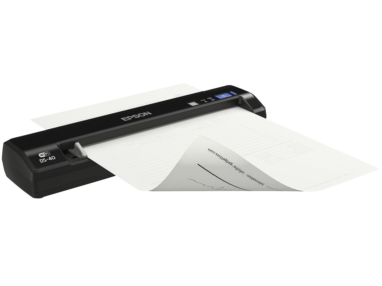 Foto 14 - Scanner Portátil Epson DS-40 Colorido - 600dpi com Conexão Wi-Fi USB