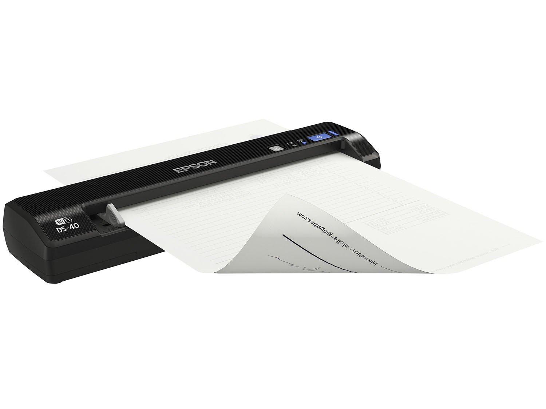 Foto 14 - Scanner Portátil Epson DS-40 Colorido - Wi-Fi 600dpi