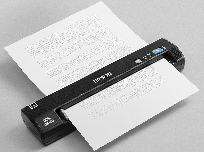 Foto 17 - Scanner Portátil Epson DS-40 Colorido - Wi-Fi 600dpi