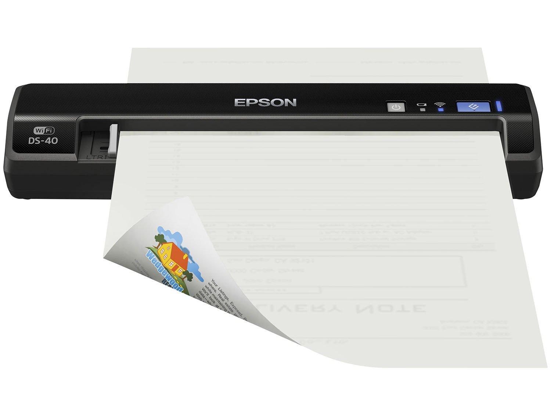 Foto 18 - Scanner Portátil Epson DS-40 Colorido - Wi-Fi 600dpi
