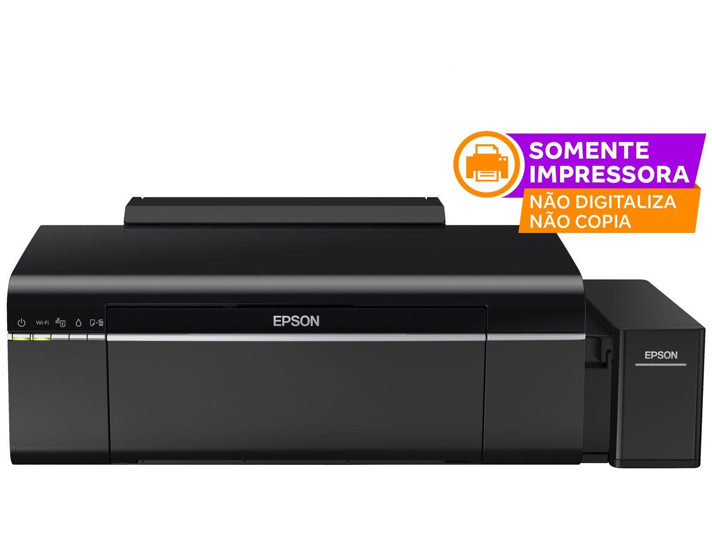 Foto 2 - Impressora Epson EcoTank L805 Jato de Tinta - Colorida Wireless USB