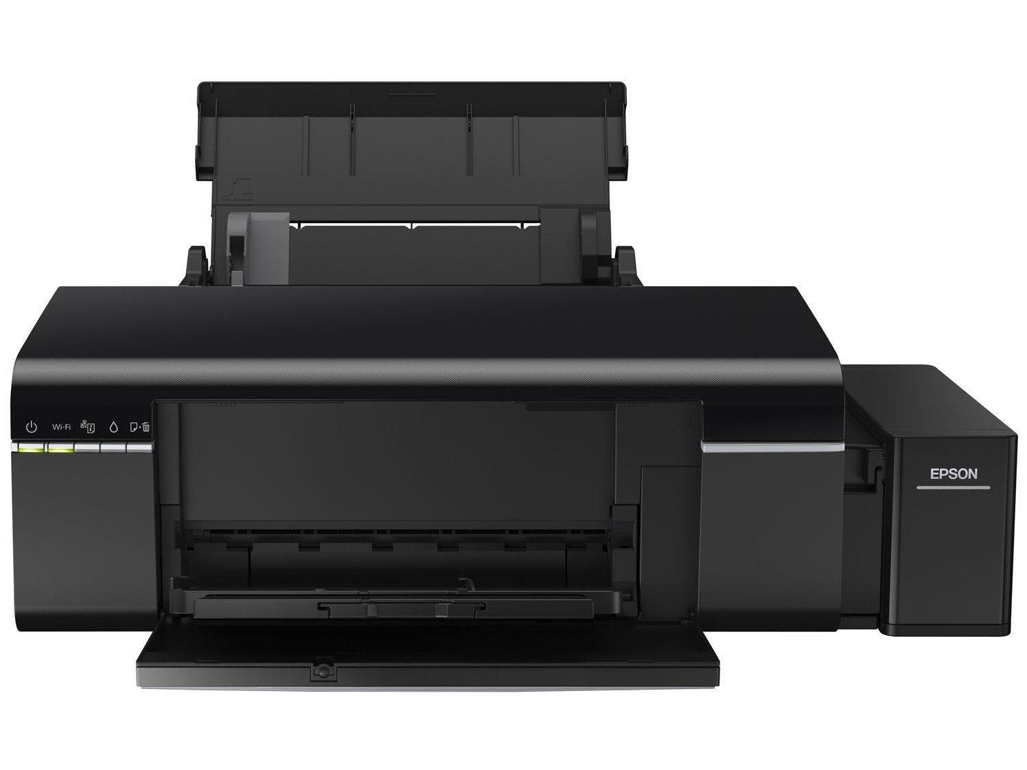 Foto 5 - Impressora Multifuncional Epson EcoTank L805 - Jato de Tinta Wi-Fi Colorida USB