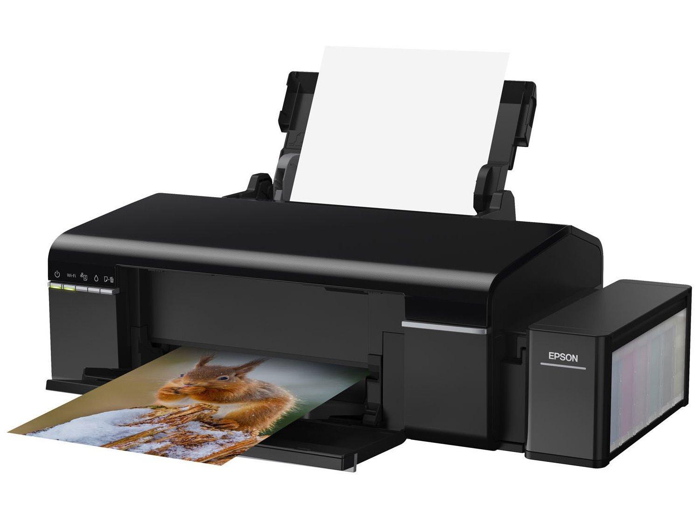 Foto 6 - Impressora Multifuncional Epson EcoTank L805 - Jato de Tinta Wi-Fi Colorida USB