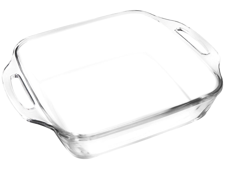 Assadeira Marinex Quadrada de Vidro - Seletta