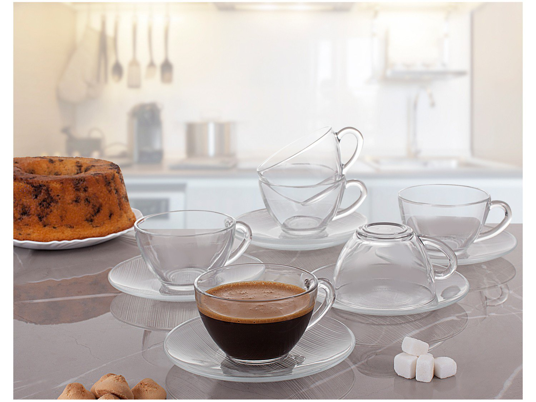 Jogo de Xícaras para Chá 12 Peças - Duralex Diamante - 4