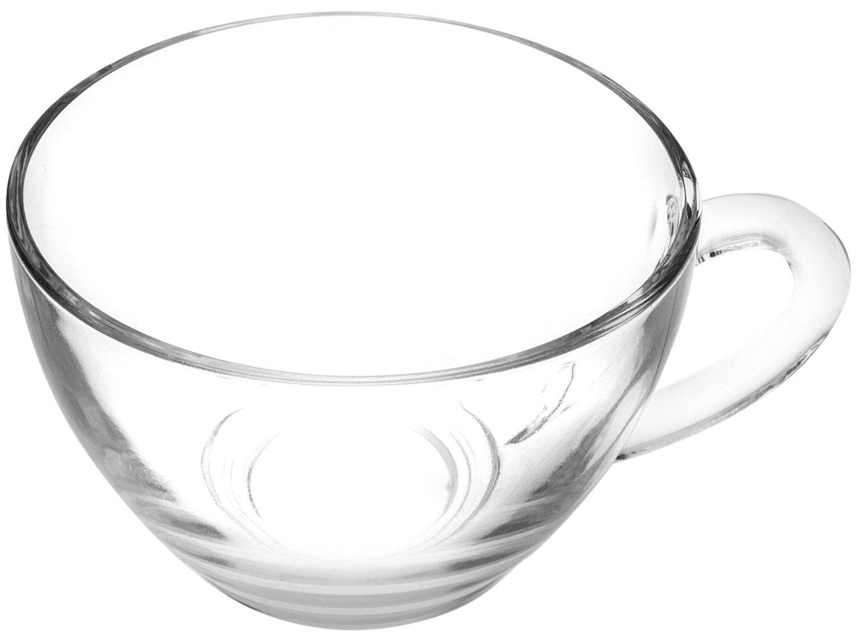 Jogo de Xícaras para Chá 12 Peças - Duralex Diamante - 12