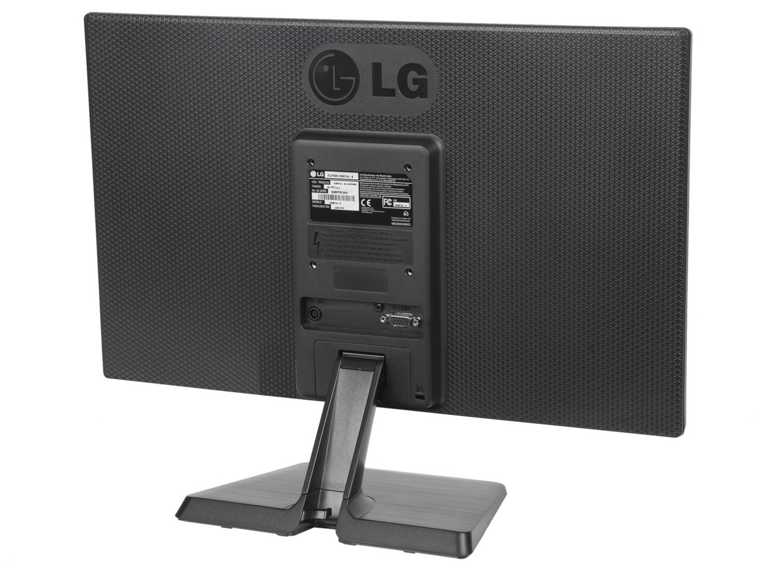 Foto 6 - Monitor para PC LG LED Widescreen 19,5 - 20M37AA