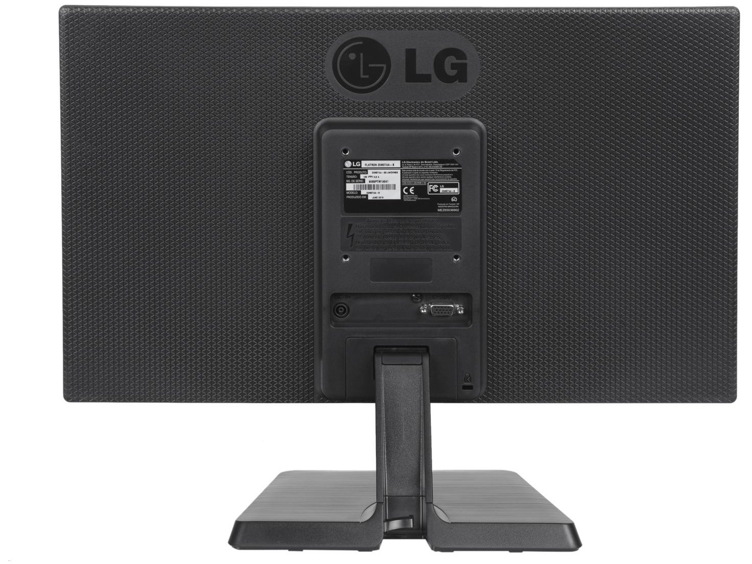 Foto 7 - Monitor para PC LG LED Widescreen 19,5 - 20M37AA