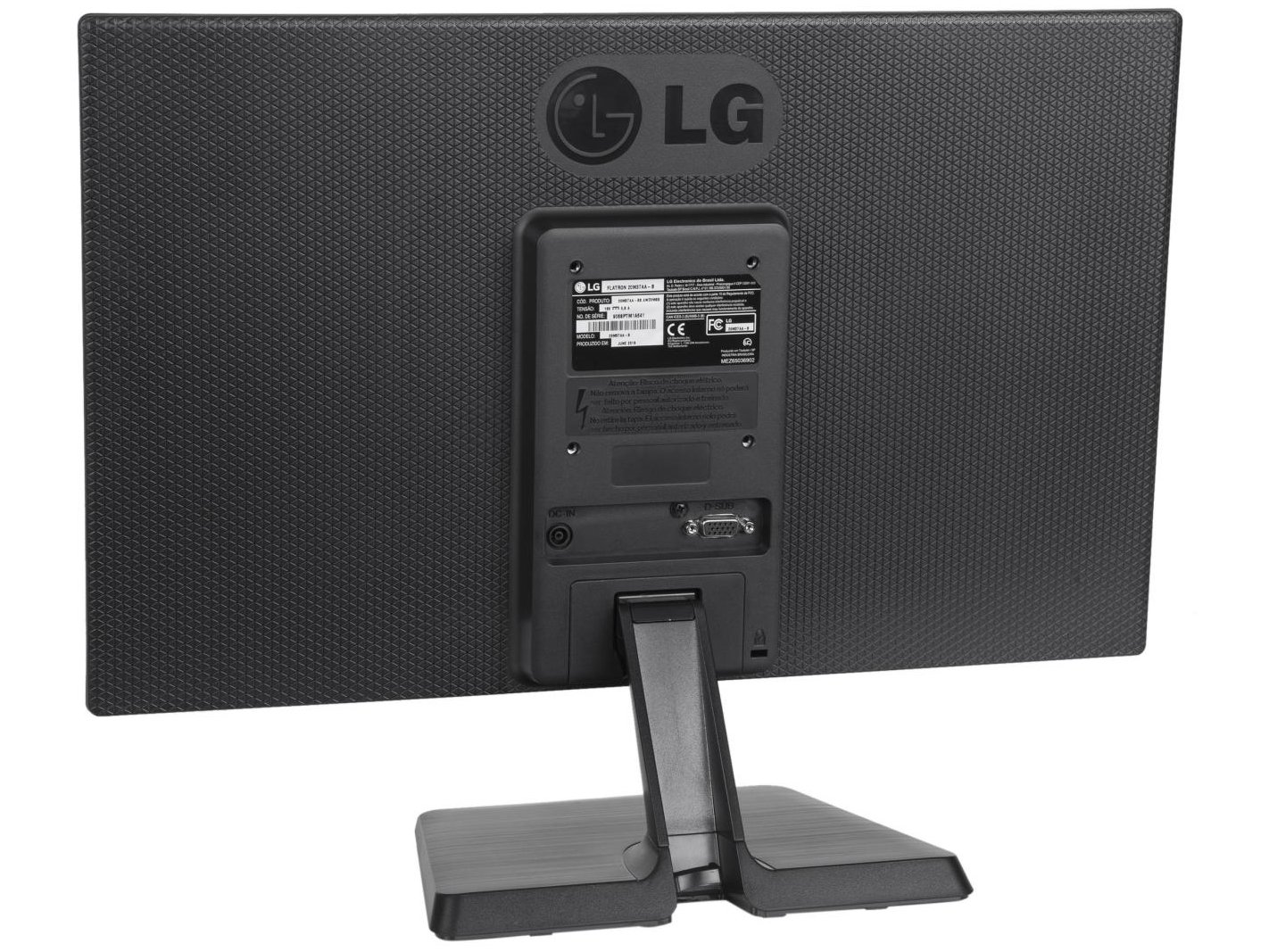 Foto 8 - Monitor para PC LG LED Widescreen 19,5 - 20M37AA