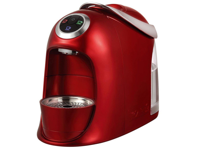 Máquina de Café Expresso e Multibebidas Automática TRES Versa - Vermelha - 110V - 3