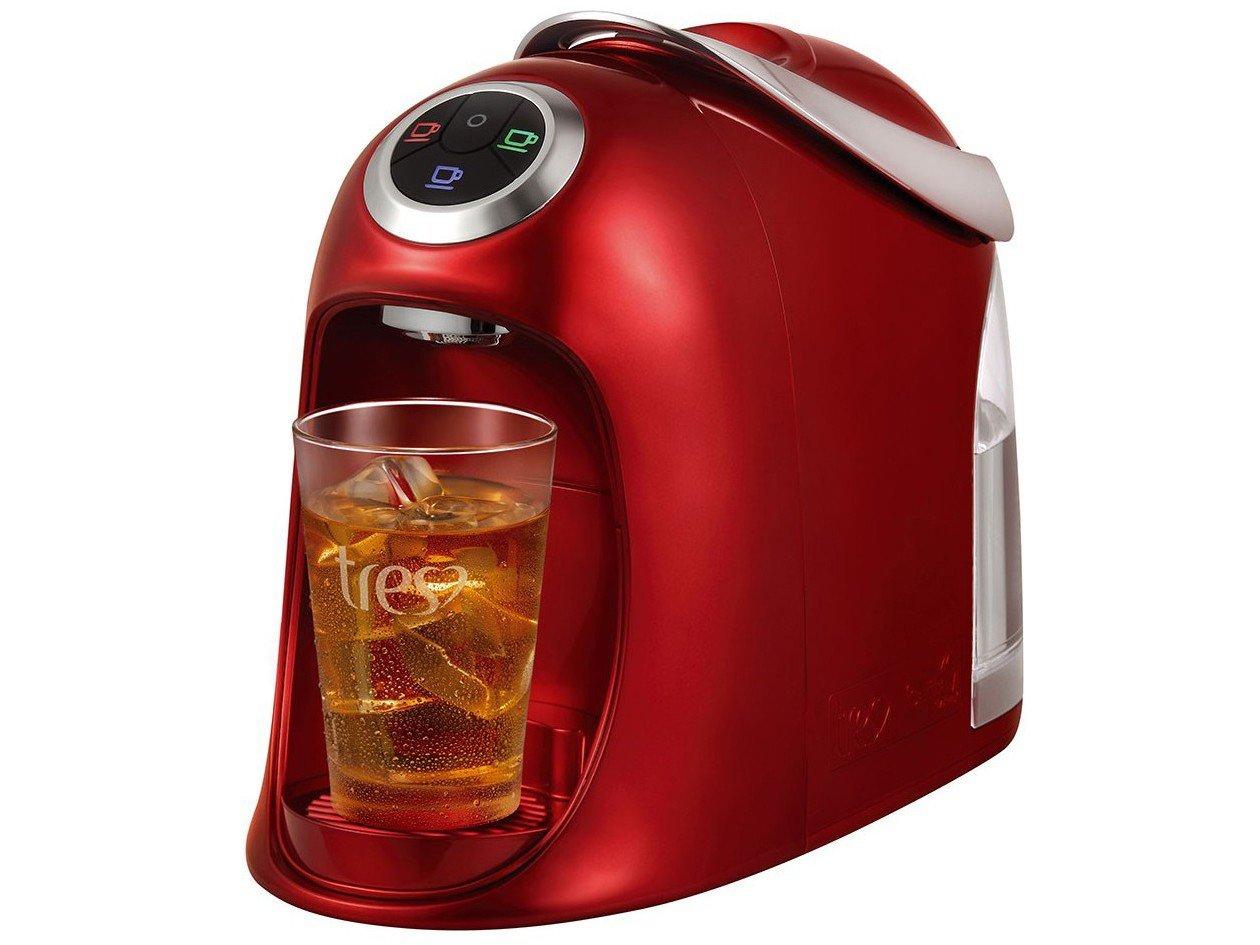 Máquina de Café Expresso e Multibebidas Automática TRES Versa - Vermelha - 110V - 6