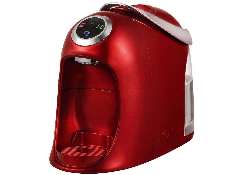 Máquina de Café Expresso e Multibebidas Automática TRES Versa - Vermelha - 110V - 9