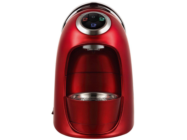 Máquina de Café Expresso e Multibebidas Automática TRES Versa - Vermelha - 110V - 10