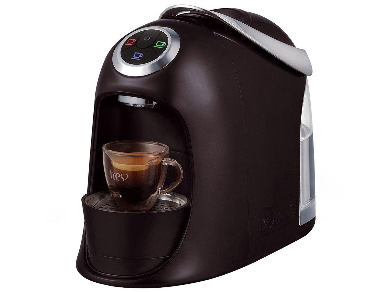 Máquina de Café Expresso e Multibebidas Automática TRES Versa – Preta - 110V