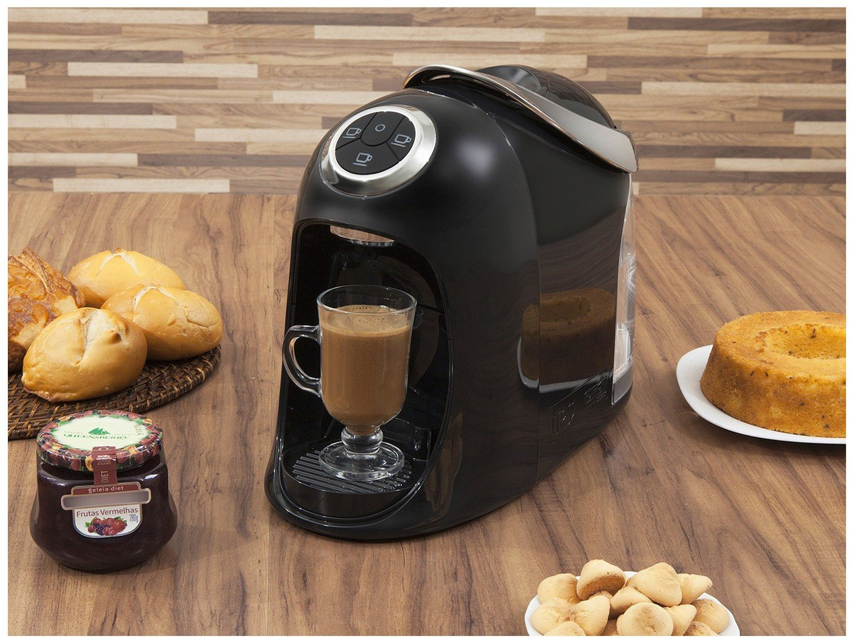 Máquina de Café Expresso e Multibebidas Automática TRES Versa – Preta - 110V - 3