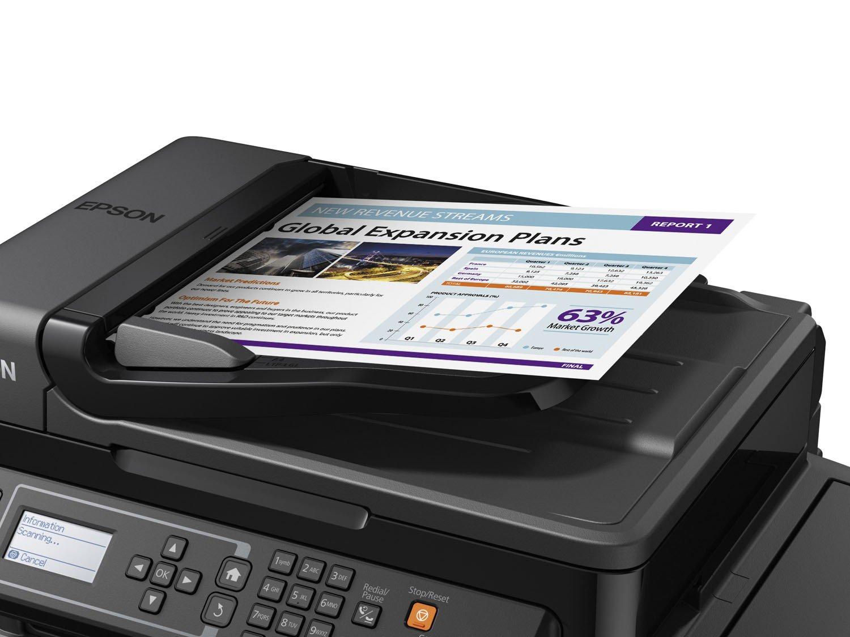Foto 2 - Impressora Multifuncional Epson EcoTank L575 - Tanque de Tinta Wi-Fi Colorida