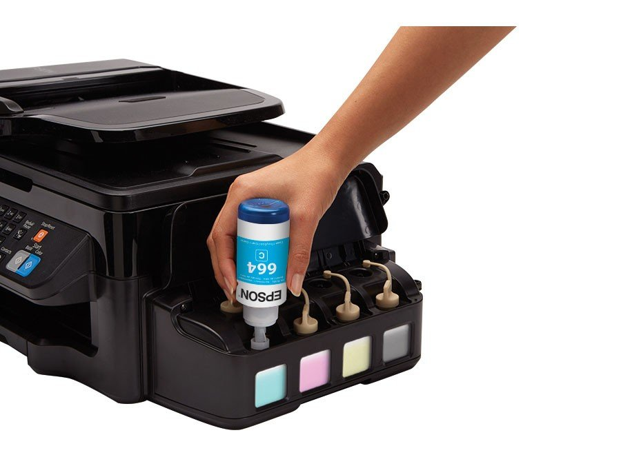 Foto 3 - Impressora Multifuncional Epson EcoTank L575 - Tanque de Tinta Wi-Fi Colorida
