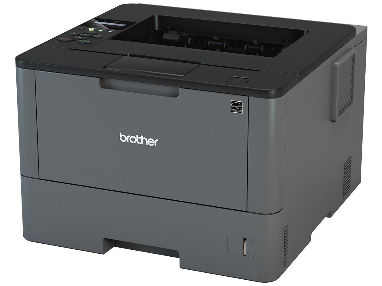 Foto 1 - Impressora Brother HL-L5102DW Laser Monocromática - Display LCD 1 Linha Wi Fi USB