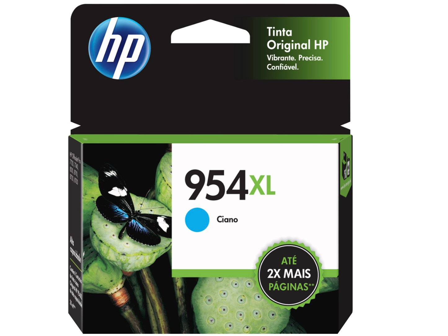 Cartucho de Tinta HP Ciano 954 XL - Original