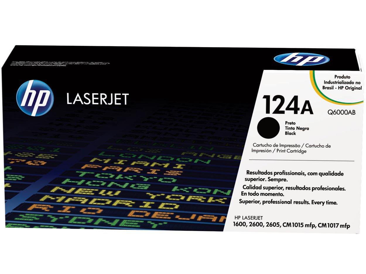 Foto 1 - Toner HP Preto 124A LaserJet - Original