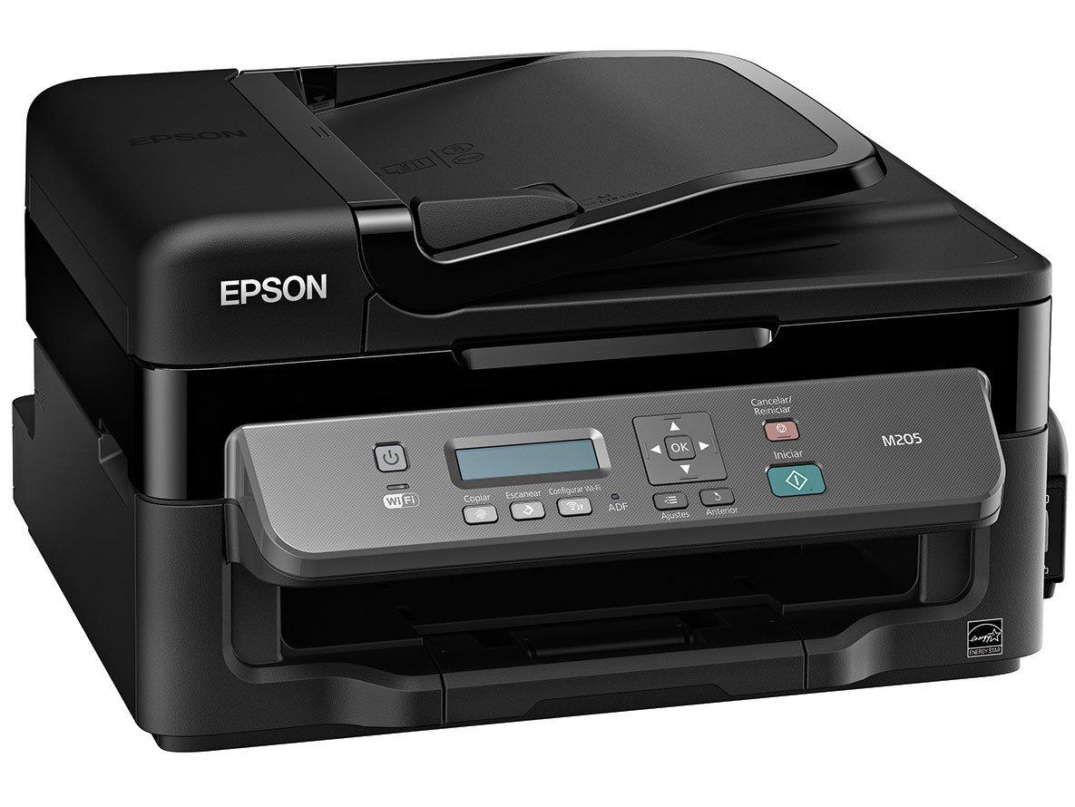 Foto 3 - Impressora Multifuncional Epson EcoTank M205 - Tanque de Tinta Wi-Fi Monocromática USB