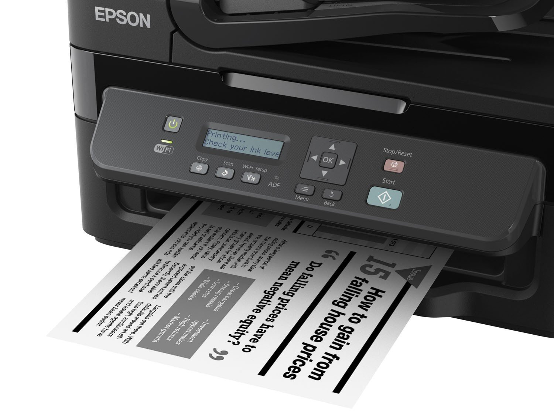 Foto 8 - Impressora Multifuncional Epson EcoTank M205 - Tanque de Tinta Wi-Fi Monocromática USB