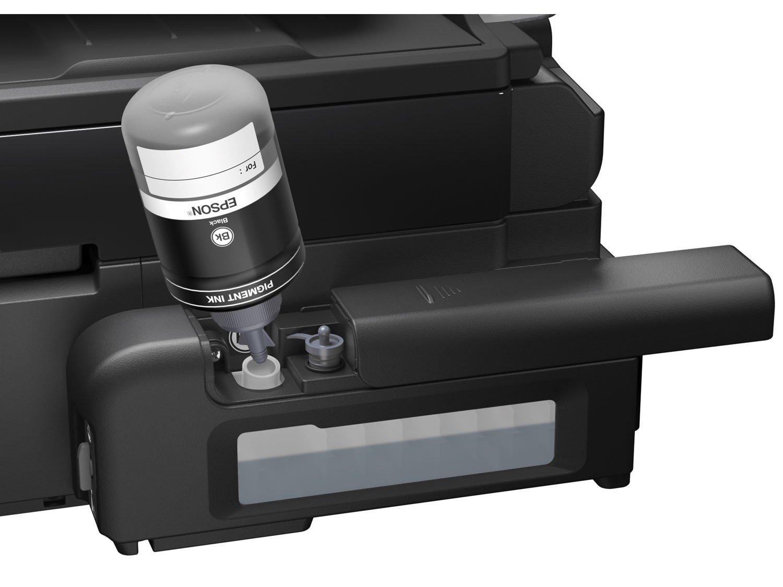 Foto 9 - Impressora Multifuncional Epson EcoTank M205 - Tanque de Tinta Wi-Fi Monocromática USB