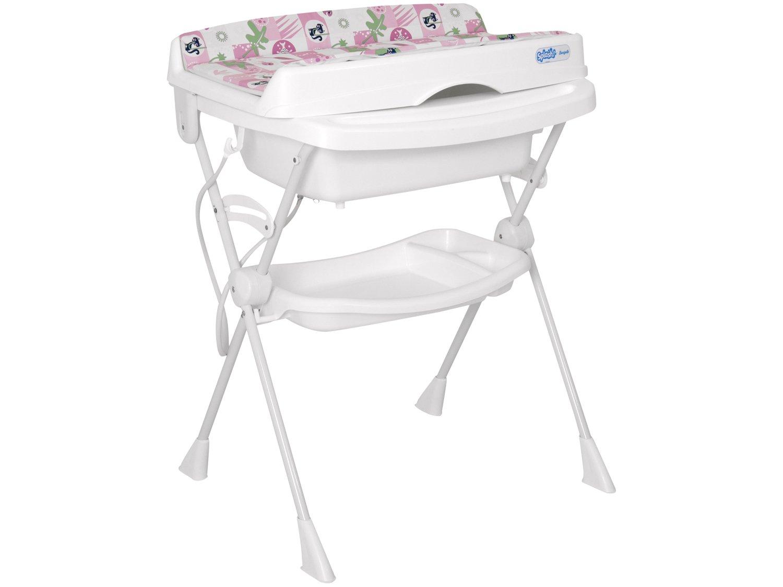 Banheira de Bebê Burigotto com Trocador Splash - Peixinhos 20L