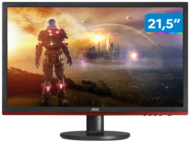 Foto 1 - Monitor Gamer AOC LED 21,5 Full HD Widescreen - Speed G2260VWQ6
