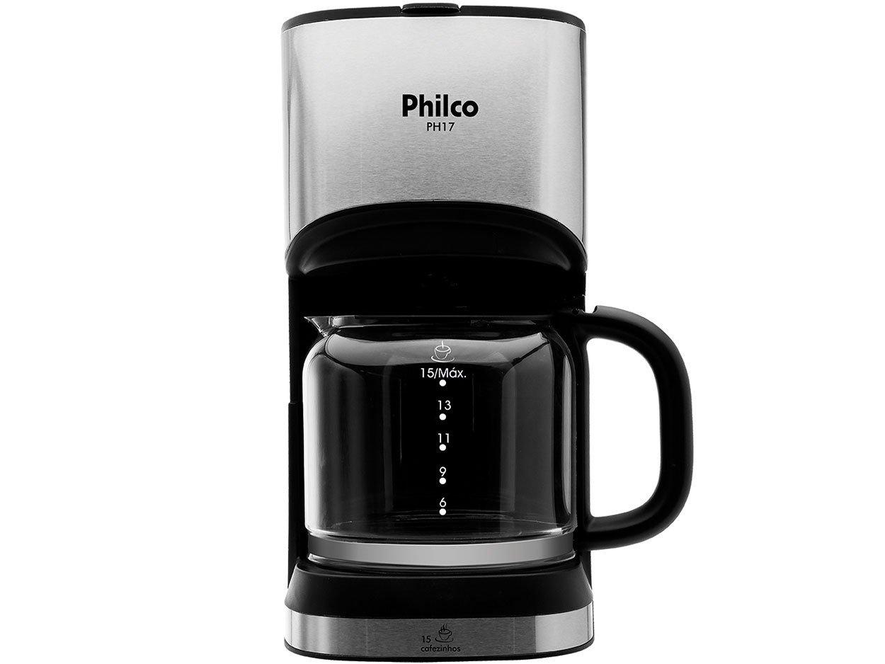 Cafeteira Elétrica Philco PH17 - Preta - 110 V