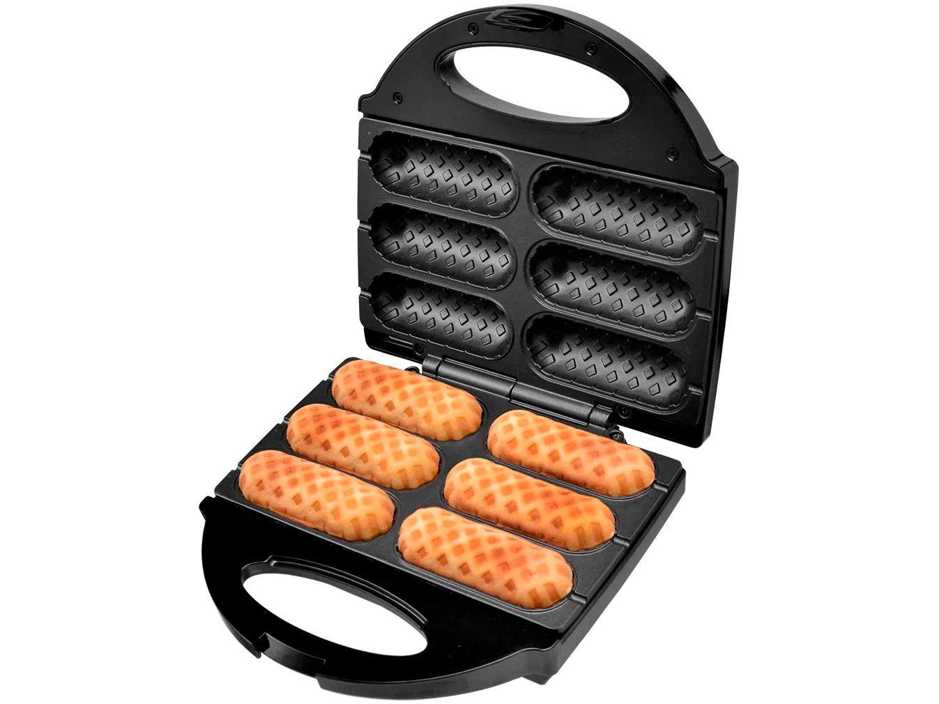 Crepeira e Hot Dog Britânia Six - Preta - 110 V