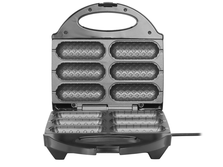 Crepeira e Hot Dog Britânia Six - Preta - 110 V - 4