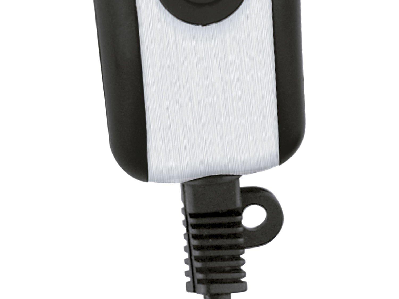 Máquina de Cortar Cabelo Britânia Inox 4 pentes Preto/Prata - 110 V - 10