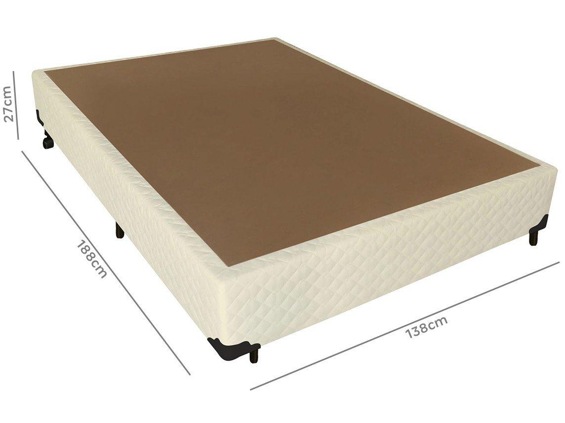 Box para Colchão Casal Probel - 27cm de Altura Tela Mel - 1