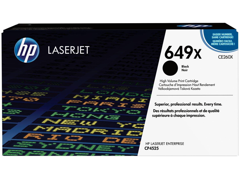 Foto 1 - Toner HP 649X LaserJet Enterprise - Preto
