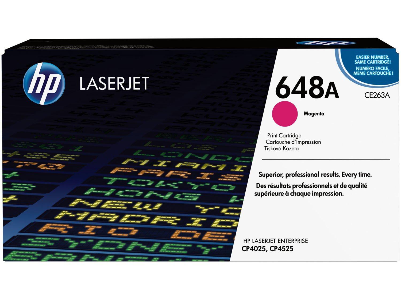 Foto 1 - Cartucho de Tinta HP Magenta - LaserJet Enterprise 648A