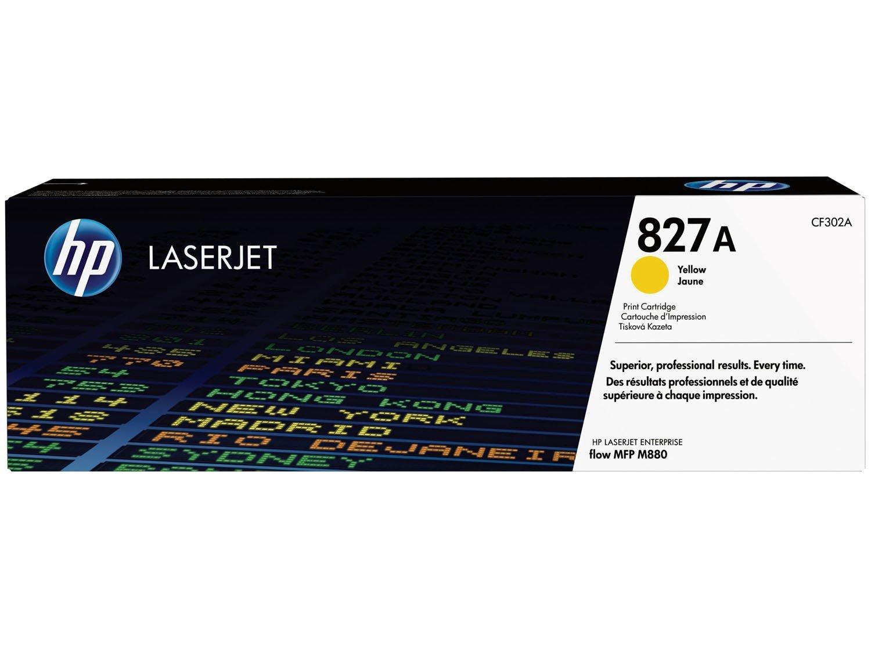 Foto 1 - Cartucho de Tinta HP Amarelo - LaserJet Enterprise 827A